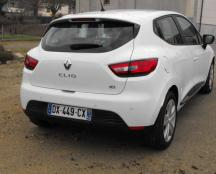 RENAULT CLIO IV DCI 90 ENERGY ECO 2  04/11/2015  39000 KMS  BLANCHE